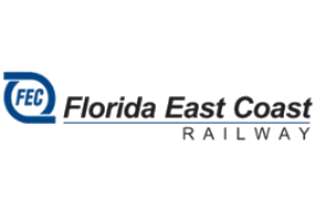 Логотип Florida East Coast Railway