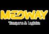 Логотип Medway transport & logistics