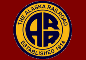Логотип Alaska Railroad