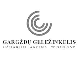 Логотип Gargzdu gelezinkelis