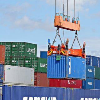 Погрузка контейнера
