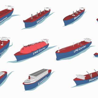 Виды морских судов