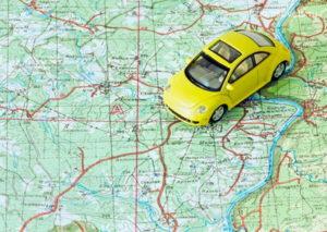 Расчет стоимости поездки на автомобиле
