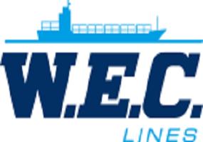 Логотип W.E.C. (West European Container) Lines
